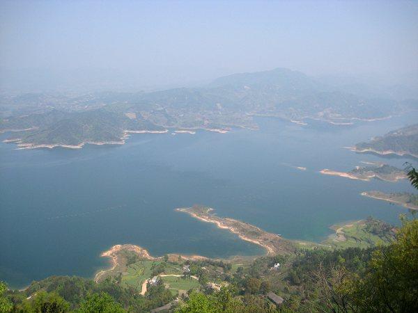 花亭湖风光