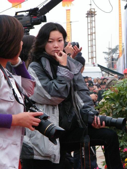 """2009""""中国花亭湖旅游暨第八届皖西南山货节开幕(2)"""