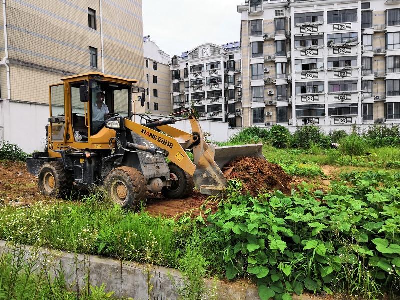 县委党校开展网格环境整治行动
